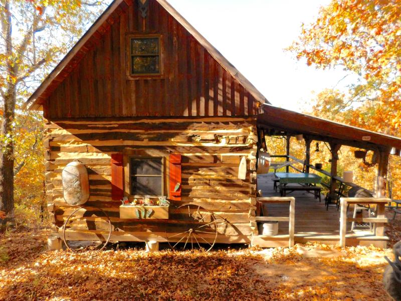 Scenic Ozark Cabin in the Woods, holiday rental in Saint Robert