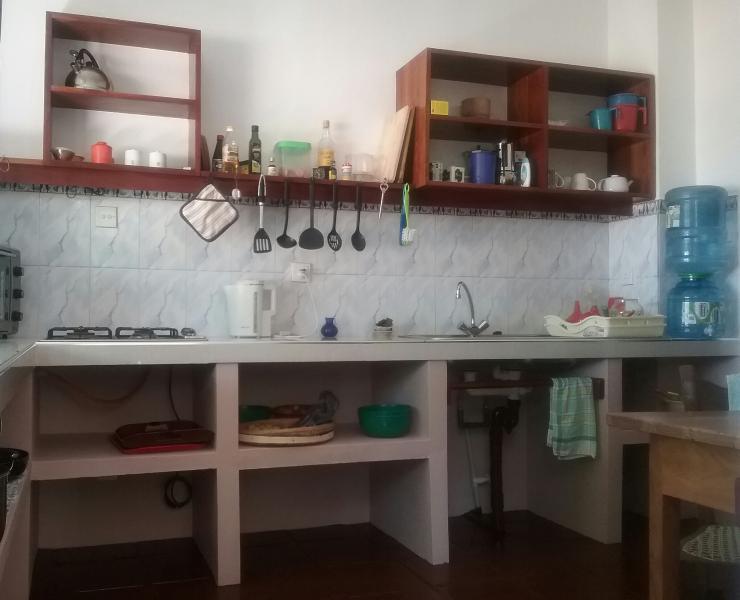 Küche, renoviert 2016
