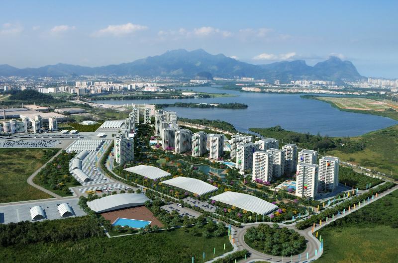 Apenas 1 km de distância da Vila Olímpica Rio 2016.