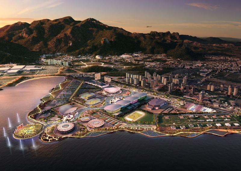 Apenas 5 Km de distância do Parque Olímpico Rio 2016.