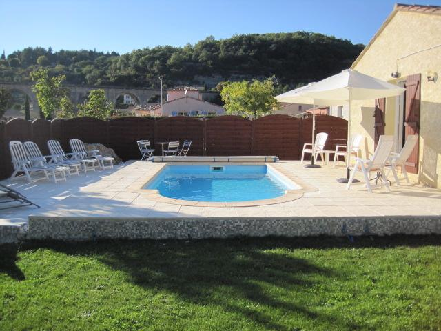 The Pool with sun loungers