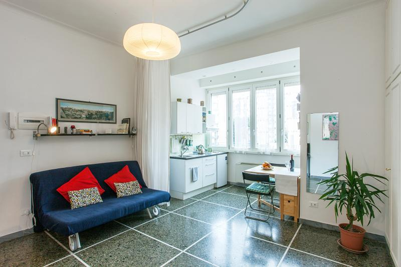 Enjoy your stay in this bright and comfortable apartment in Rome, just renovated and very equipped.