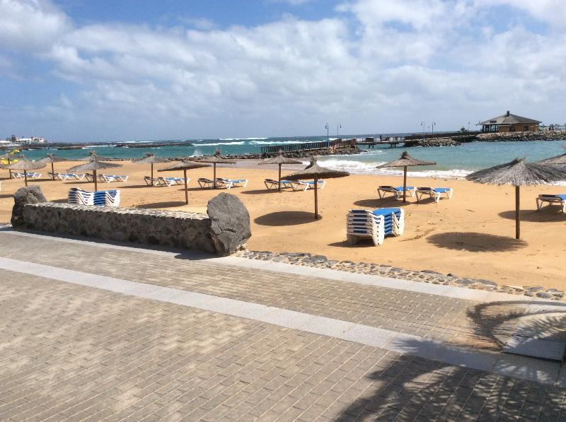 Beach Caleta near Atlantico Centre