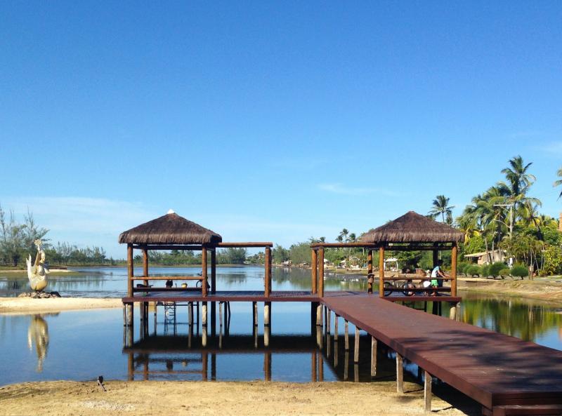 Pier da Lagoa de Santa Maria