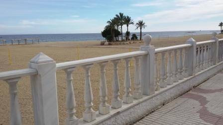 Playa de Garrucha. 1 Km