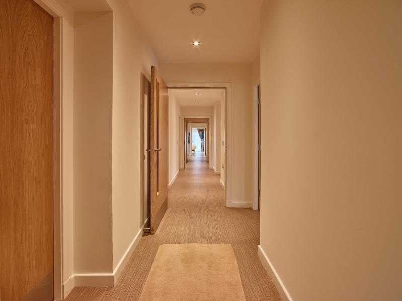 Long corridor when cottage taken for sole occupancy