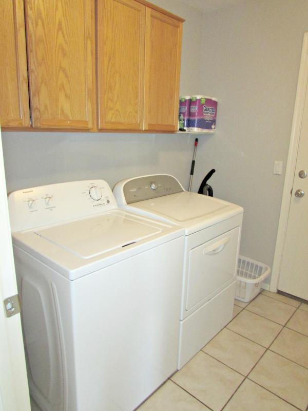 Laundry room w/ washer and dryer