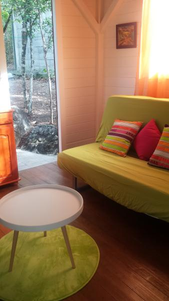 Bungalow 'BZ' -Nature, Plage, vacation rental in Deshaies