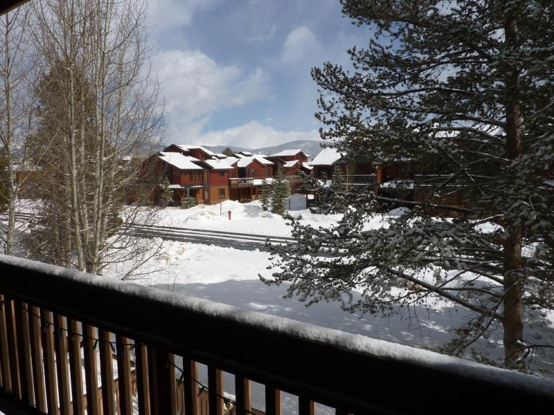 View of the Continental Divide from our private balcony