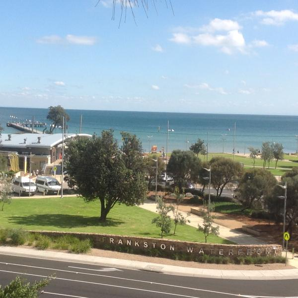 Frankston Pier and information centre.  Oodles of help to find amazing places to see