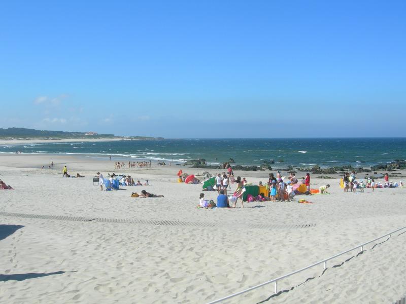Atlantic coast beach approximately 45 minutes drive away