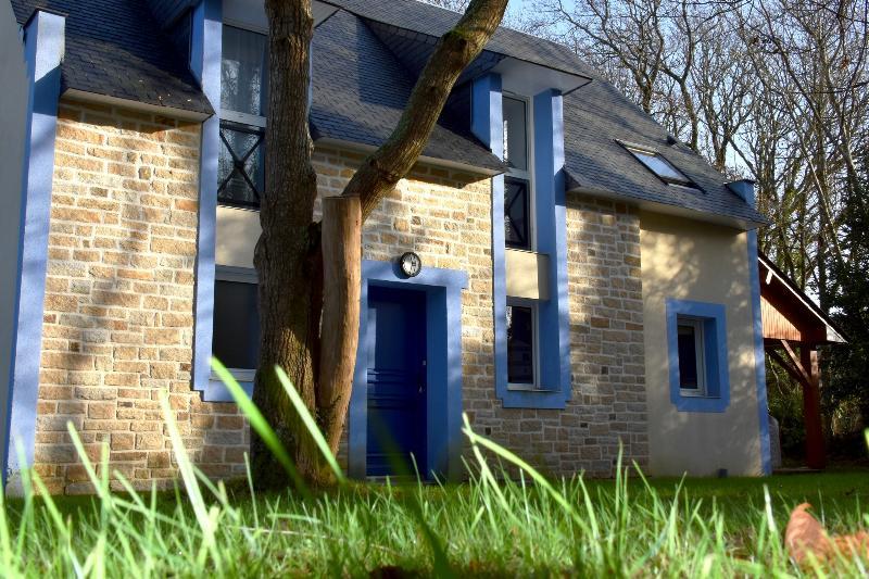 La Maison bleue - Ile-aux-Moines (56) Villa 8 pers, location de vacances à Plougoumelen