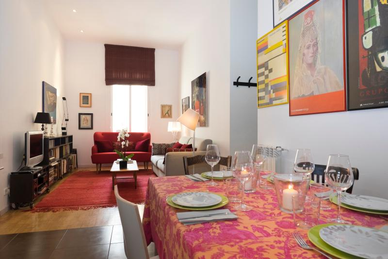 Modern and elegant apartment Plaza Colon, holiday rental in Madrid