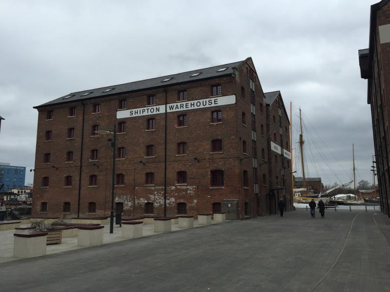 view of the biddle and shipton warehouse