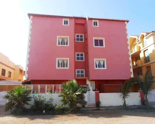 sal service rent apartment capo verde building entrance