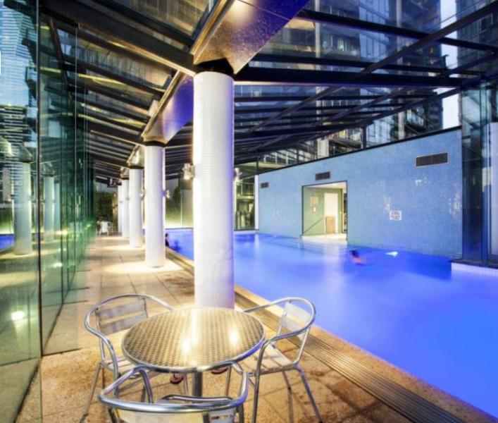 pool from inside
