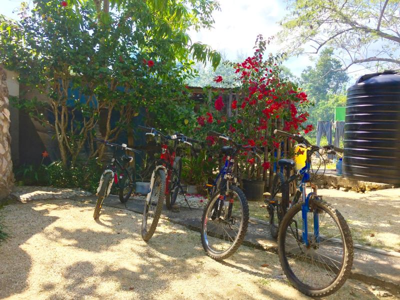 Do you want to get away from the villa for a bit? No worries! We have bikes for you to use anytime!