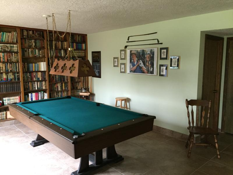 Rec Room and Pool Table