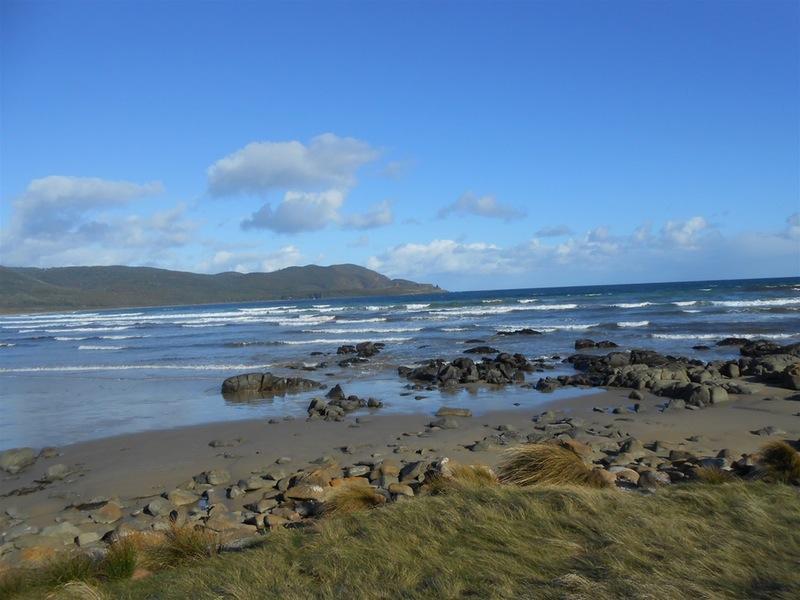 Cloudy Bay Beach Bruny Island