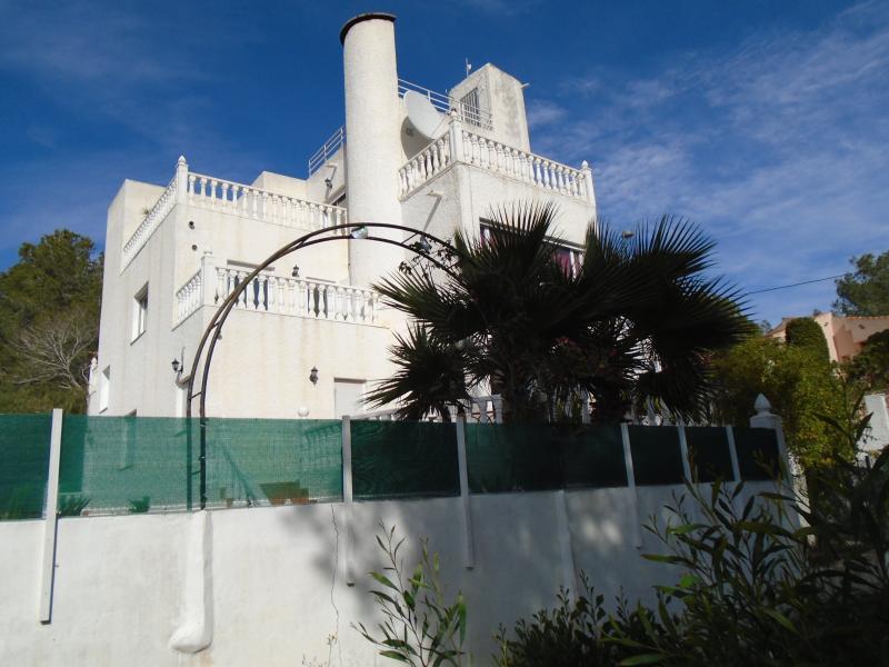 South view of Villa