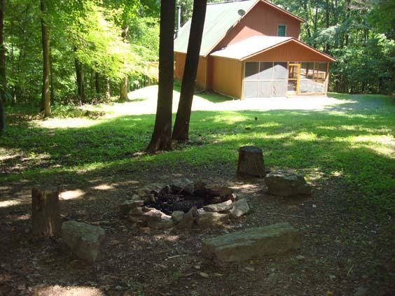 The Back of the Property