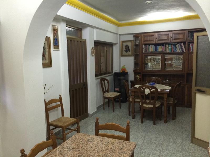 cucina soggiorno casa grande