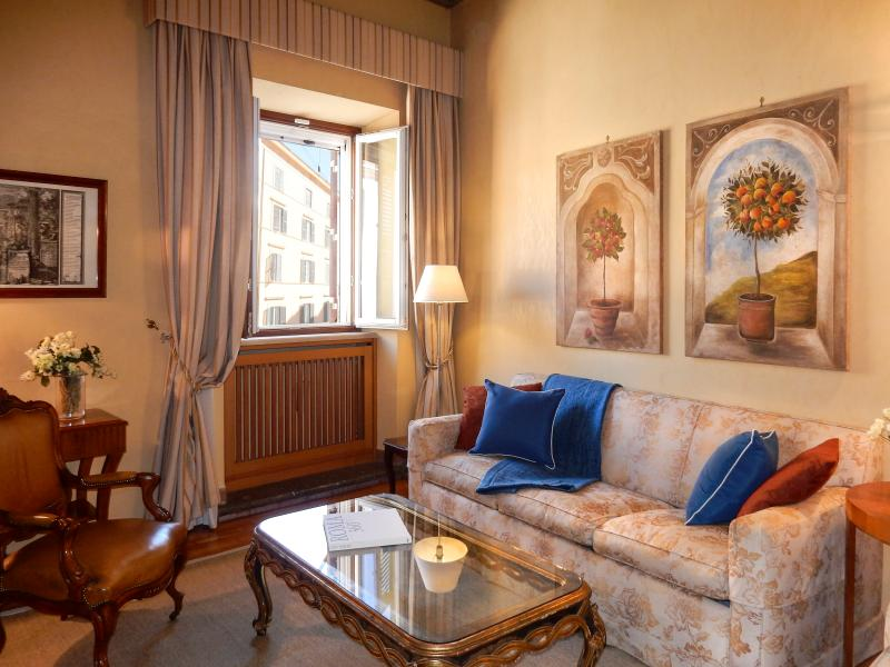 Comfy living room, near Piazza Navona.