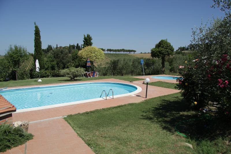 Agriturismo La Terra, Casa Simonetta, alquiler de vacaciones en Valiano
