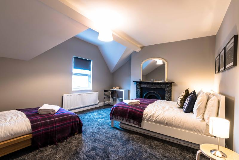 Second Floor - Double and Single Bed - Sleeps 3