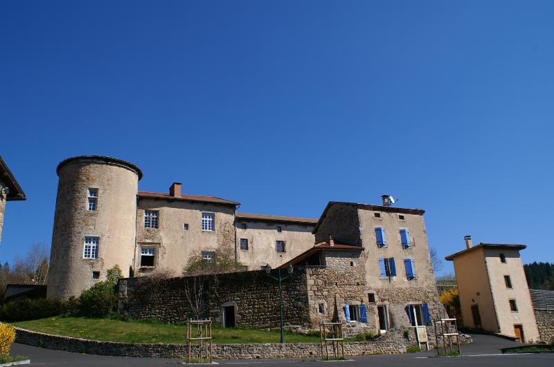 Vivez votre rêve dans un château du 12 15eme Gîtes de France 4 épis, location de vacances à Vernet-la-Varenne