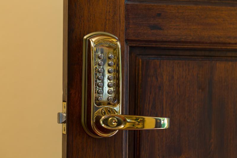 Security Code door