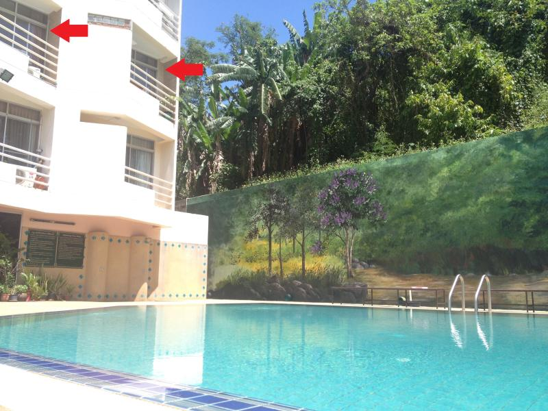 Chiang Rai Central City Condotel 80m2 Pool View, location de vacances à Province de Chiang Rai