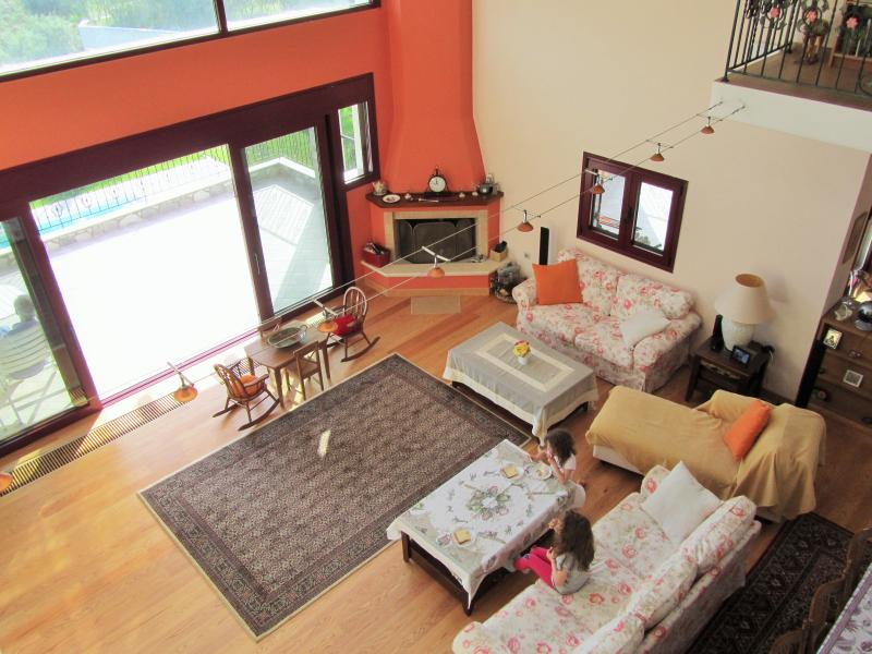 View of Living Room from internal Balcony