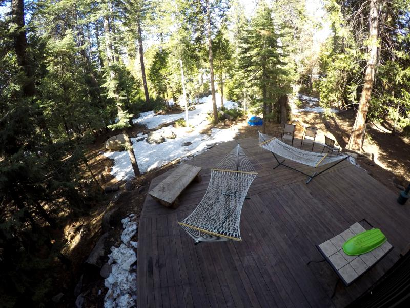 Back deck, view from bedroom 1.