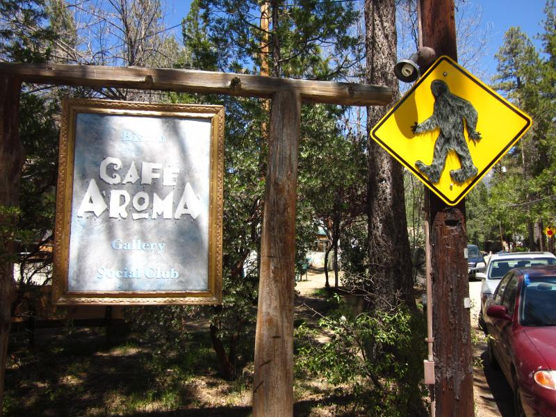 Café Aroma (one of many great restaurants we recommend)