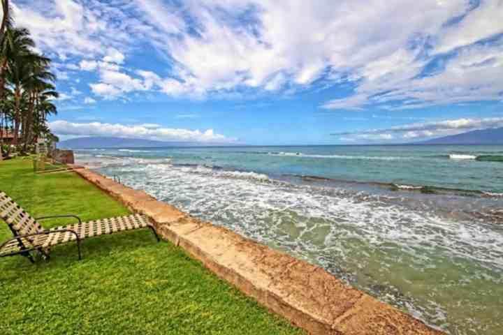 Paki Maui è un complesso di fronte all'oceano.