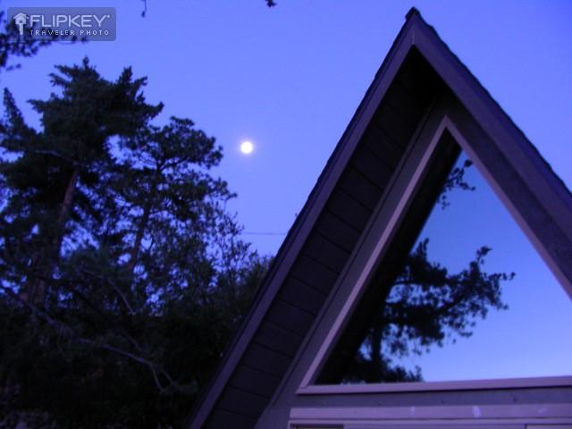 Beautiful moon-rises