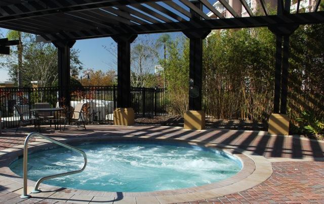 Resort bain à remous
