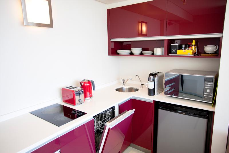 Kitchen with everything from dishwasher to filtered drinking water