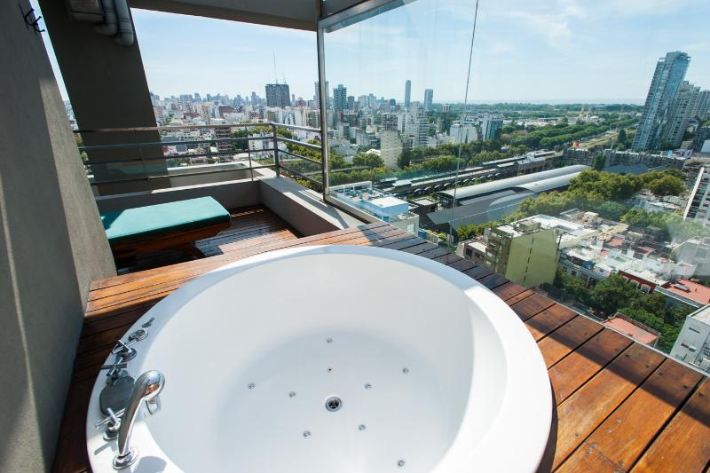 Terrace and Jacuzzi