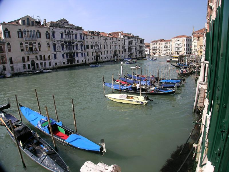Grand Canal view from the apartment