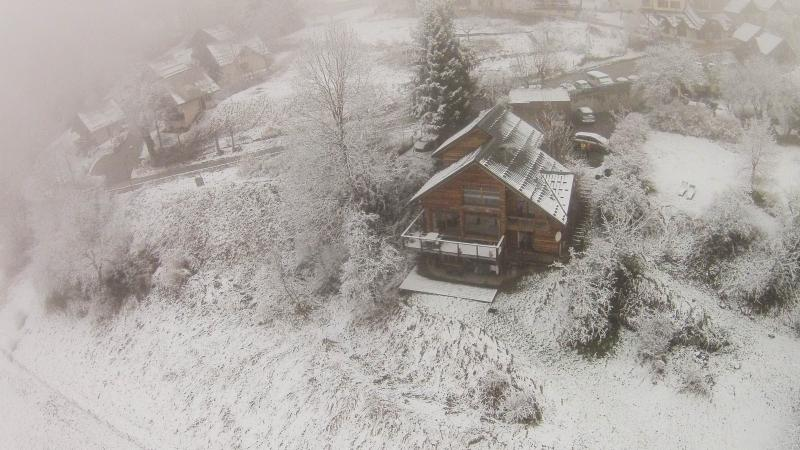The chalet from the sky!!