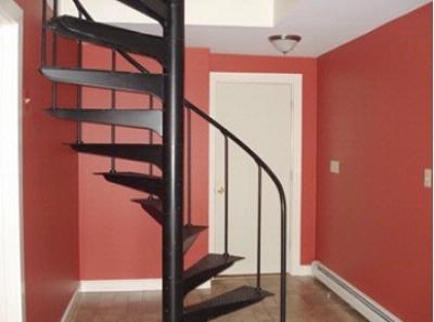 Spiral Stairs Leading To Ground Floor