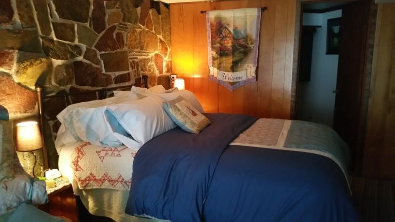 Very cozy queen  size bed