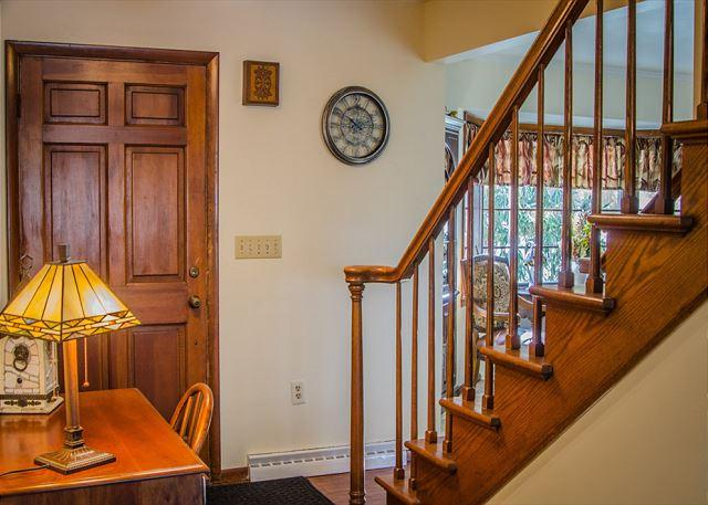 Beautiful woodwork throughout the home