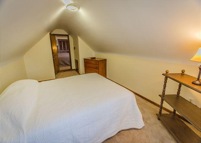 2nd Floor Bedroom 3 accessed via larger adjacent room. Cozy and