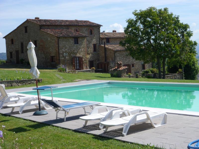 Agriturismo Villalugnano appartamento Diana, vacation rental in Trestina