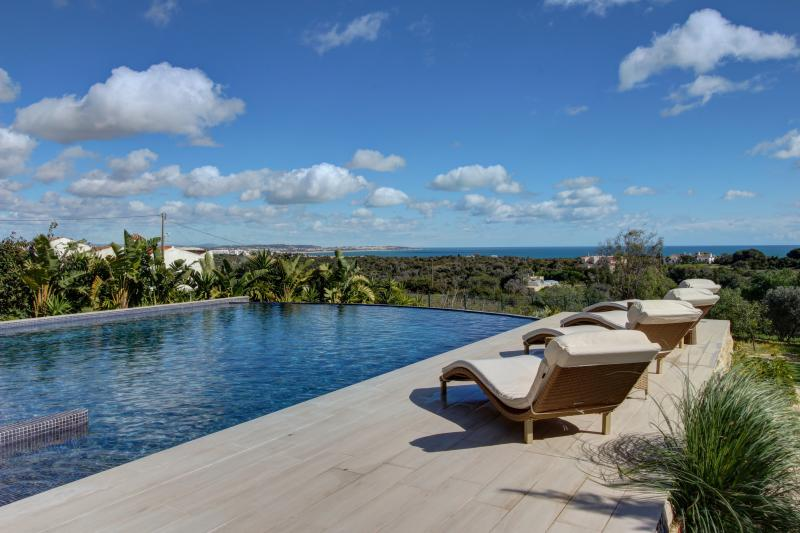 The infinity pool and deck is fantastic way to enjoy the expansive views.