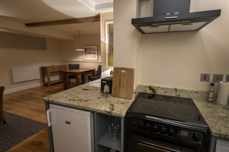 Beautifully equipped kitchen and generous dining area