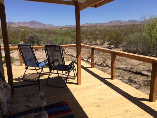 This can be you, watching the sun and moon rise over the mountains from the spacious deck!